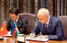 越通社与阿塞拜疆国家通讯社签署业务合作协议