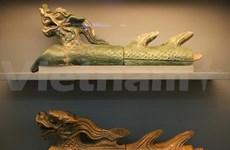 河内市升龙皇城诸多珍贵实物公开展示