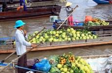 凯比水上集市——越南旅游业的一张亮丽名片