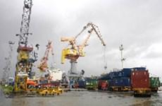 越南海防港货物吞吐量增加