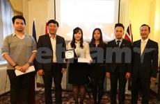 英国越南大学生协会正式成为越南大学生协会的一员