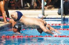 越南残疾人体育代表团参加第二届亚洲残运会前准备就绪