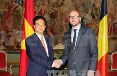 越南政府总理阮晋勇开始对比利时进行正式访问