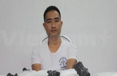 广宁省:非法贩运毒品的一名中国籍嫌疑人被起诉