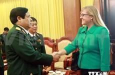 2014年第5次越美防务政策对话在河内举行