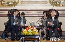 越南胡志民市与日本泉大津市推动港口合作