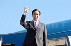 越南政府总理阮晋勇对印度进行正式访问