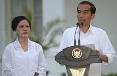 印尼总统公布新内阁成员名单