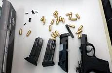 经越南广平省茶洛国际口岸的两起非法运输武器案被查处