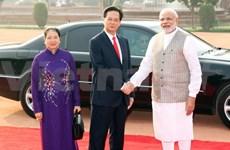越南政府总理结束对印度的正式访问