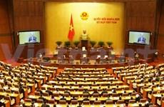 越南第十三届国会第八次会议继续讨论经济社会发展情况