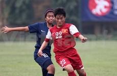 2015年亚洲U19女足锦标赛预选赛:越南队以6比0击败中国香港队