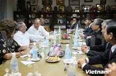 越古两国共产党加强传统友好关系