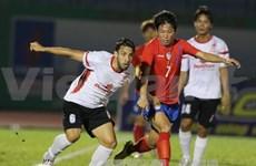 第15次平阳省电视台国际足球赛:韩国大学生队夺冠