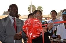 以旅居安哥拉越南侨胞为主要服务对象的新一所卫生服务中心落成