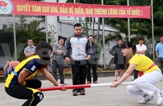 """2014年""""途经越北遗产地区""""体育旅游活动在太原省举行"""