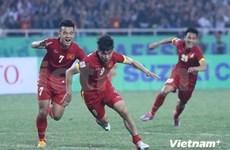 东南亚男足锦标赛:越南队与印尼队以2比2打成平手
