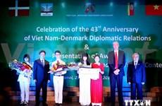 越丹建交43周年纪念典礼在河内举行