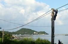 坚江省即将向坚海岛县供电