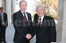 越共中央总书记阮富仲圆满结束访俄之旅