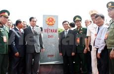 越南与柬埔寨加大勘界立碑工作宣传力度