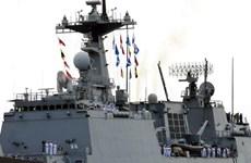 韩国海军军舰访问越南胡志明市