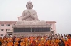 越南佛教首座南宗寺在印度落成