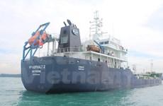 越南VP ASPHALT 2号货船在距离新加坡海域70海里处遭到海盗劫持