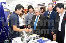 越南参加2014年老挝技术展览会