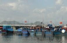 2014年前江省水产捕捞产量达逾8.8万吨