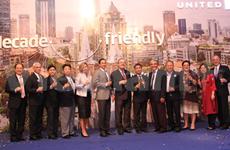 美国联合航空公司庆祝越南胡志明市航线开通10周年