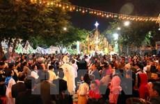 越南天主教团结委员会举行见面会欢庆圣诞节