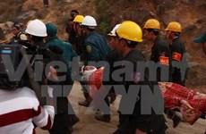 越南国家主席和政府总理向林同省水电工程隧道坍塌事故的救援力量予以表彰