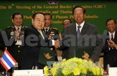 柬埔寨与泰国加强合作维护两国共同边界安全与和平