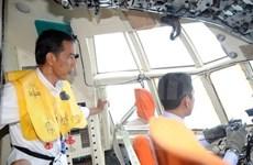 越南领导人就亚航失事致电印尼总统佐科表示慰问