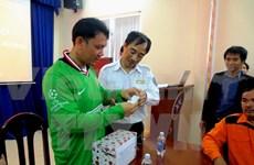 越南向菲律宾驻越大使移交遇难船上一名厨师长