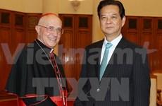 越南政府总理阮晋勇:越南与梵蒂冈关系发展机遇良好