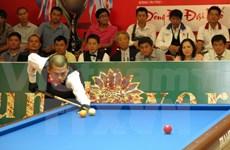 名越南球手参加第七届亚洲三球开伦式台球锦标赛
