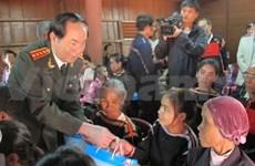 越南公安部部长陈大光走访慰问得乐省少数民族群众
