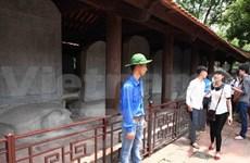 河内市注重修缮文庙—国子监82座进士碑