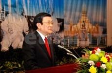 越老和老越特殊关系历史全集编撰项目总结会在老挝举行
