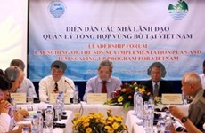 2011年越南海洋与海岛周:越南沿海综合管理领导人论坛
