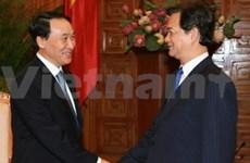 阮晋勇总理接见韩国驻越新任大使