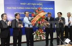 越南政府副总理阮善仁探访越南通讯社