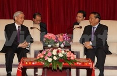 老挝媒体高度评价阮富仲总书记访老圆满成功