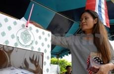泰国大选举行提前投票