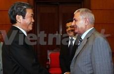 越共与巴勒斯坦民族解放运动加强合作