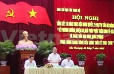 政府常务副总理阮生雄:将九龙江平原建成我国经济活跃发展的地区