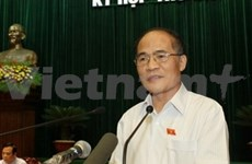 政府常务副总理阮生雄当选新一届国会主席