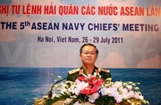 第五届东盟海军司令会议在河内召开